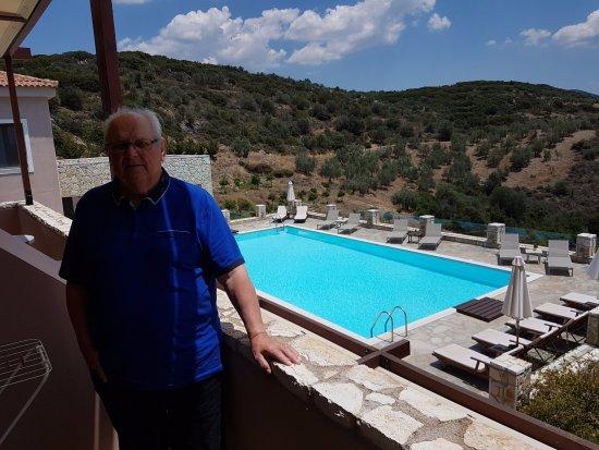 Hotel Perivoli: View from the room