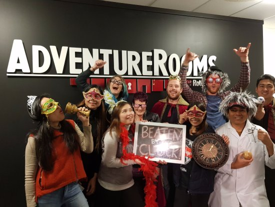 Adventure Rooms Rotorua  Beaten by the Clock but hungry for another  challenge! f65cd2b4f0