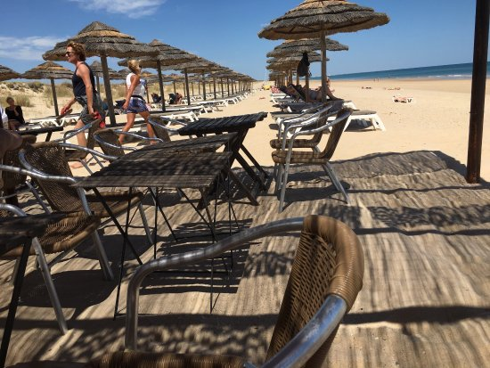 Cabanas de Tavira beach