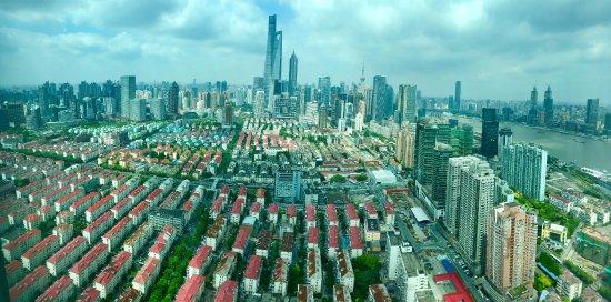 Novotel Shanghai Atlantis: Gemaakt vanuit mijn hotelkamer.