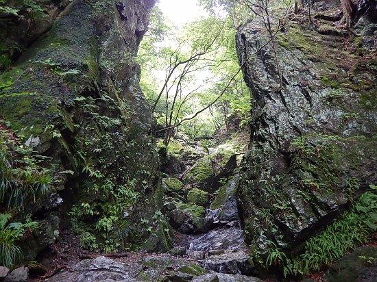 Kanto, Japón: 狭い岩場