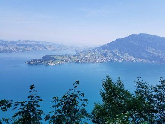 Burgenstock, Switzerland: View from the Felsenweg