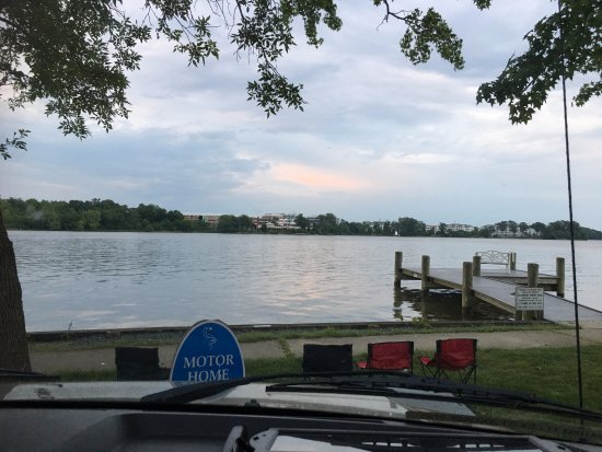 Abingdon, MD : View from our RV