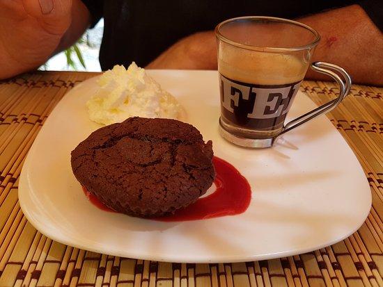 Le Croc'Odile: Café Croco (café gourmand)