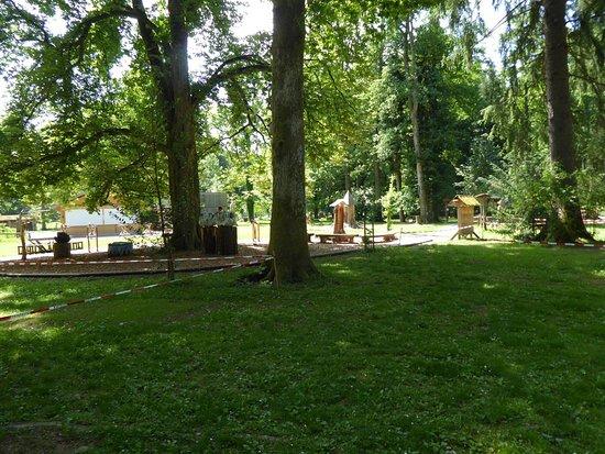 Gruenwald, Alemania: Spielplatz für die ganz Kleinen