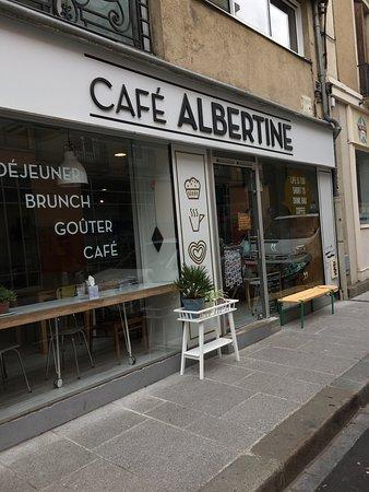 Restaurant caf albertine dans rennes avec cuisine for Restaurant o 23 rennes