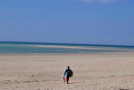 Brehal, France: le spot de kitesurf de Bricqueville sur mer 2