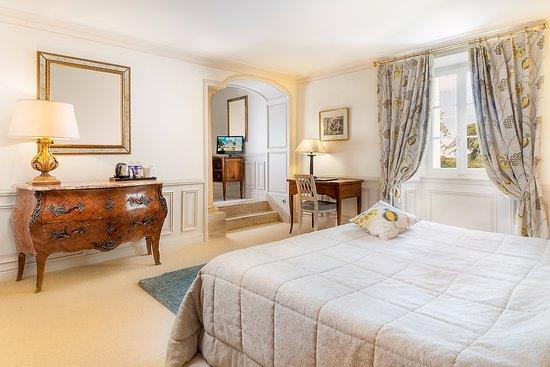 Ch teau de rochecotte hotel langeais france voir les for Prix chambre chateau vallery