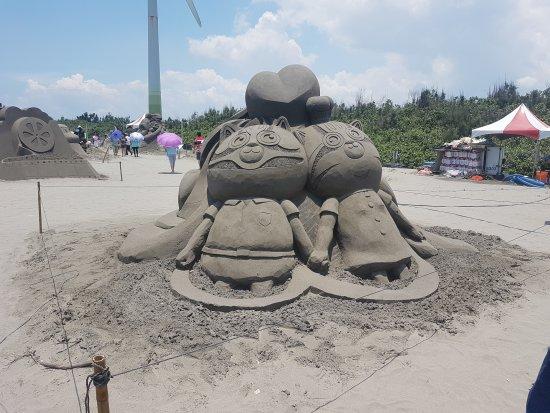 Da'an, Taichung: Da-an Sea Theme Park