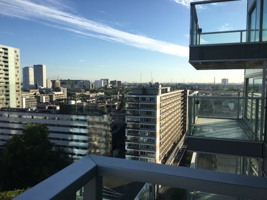 Urban Residences Rotterdam: View from the balcony