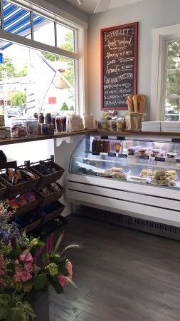 Northeast Harbor, ME: Grab a sandwich, smoothie, or salad from our coolers. We also sell fresh flowers and other goodi