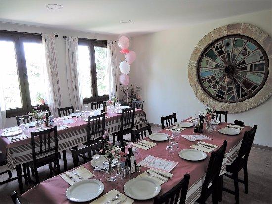 Vistabella del Maestrazgo, Spagna: Disponemos de un comedor privado para realizar celebraciones especiales