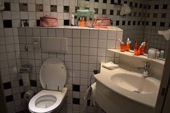 Hotel Wellenberg: Ванная