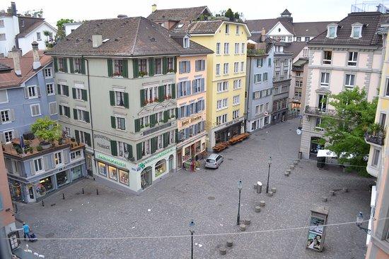 Hotel Wellenberg: Вид из окна номера