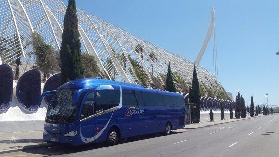 Corbera de Llobregat, Spain: Autocorb a la ciutat de les arts i les ciències (València)