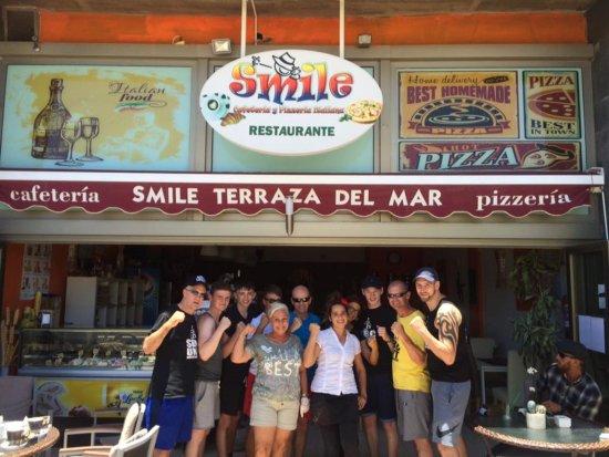 Smile Terraza del Mar: Sheffield Boxing Centre at Smile Restaurant