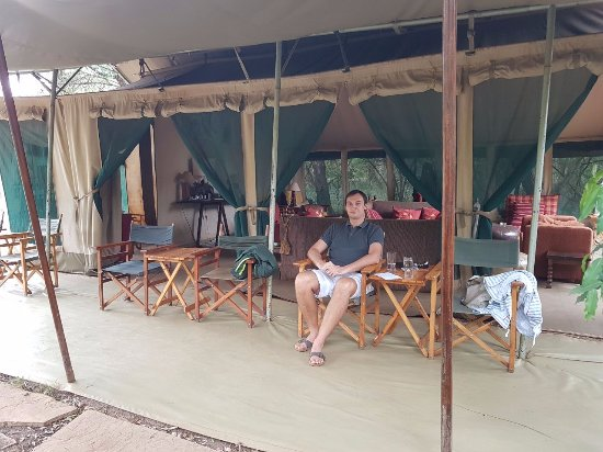 Nairobi Tented Camp: Relaxing