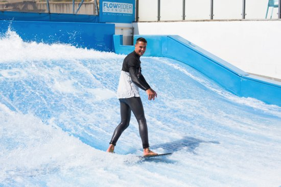 St Columb Major, UK: Surf the perfect wave every day of the year on Cornwall's only FlowRider