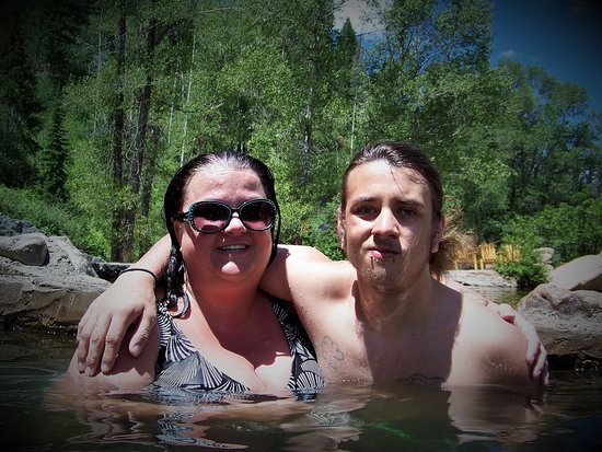 Steamboat Springs, CO: mom and son