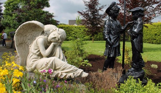 Banagher, Irlanda: Garden