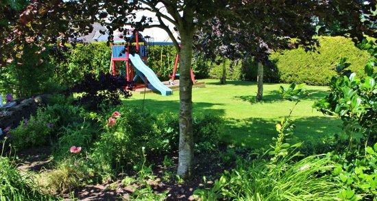 Banagher, Irlanda: Garden area