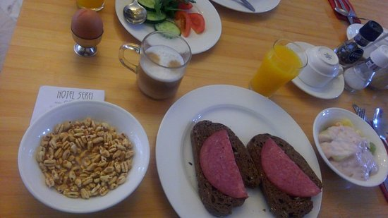 Hotel Sebel: Our choice of breakfast