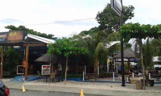 Provincie Puntarenas, Costa Rica: Frente del restaurante