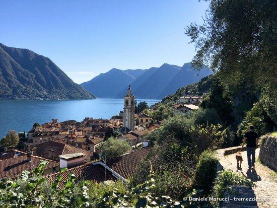 Colonno, Italy: Greenway del Lago di Como - Tratto di Sala Comacina