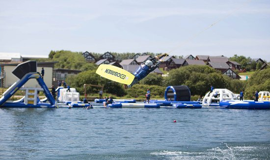 St Columb Major, UK: Retallack Wake Park