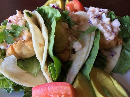 Rhinelander, WI: Fish Tacos. One of our specials we run occasionally