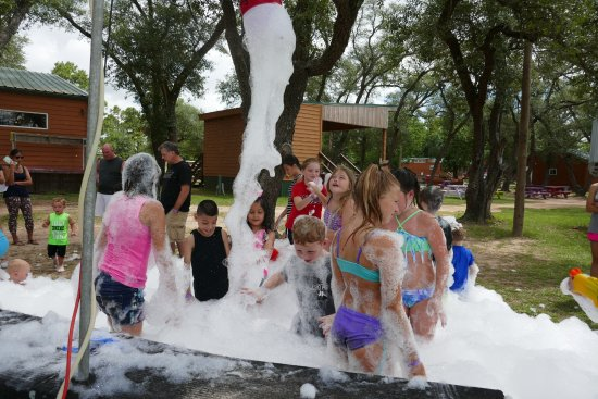 Waller, TX: kids in the foam