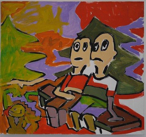 Musee d'Art Moderne et Contemporain: Mais non, un enfant de cinq ans ne pourrait peindre pareil chef-d'œuvre ! Puisqu'on vous le dit