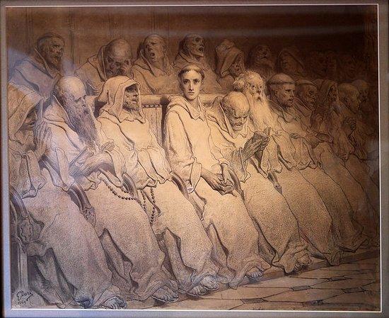 """Musee d'Art Moderne et Contemporain: Gustave Doré : """"Le Néophyte"""" (et pas """"Le Sénat"""")"""
