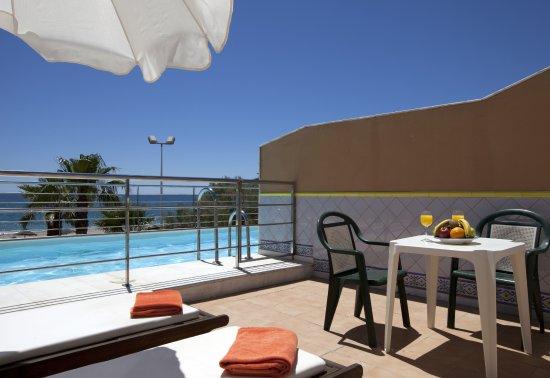 Vera Playa Club Hotel : Piscina privada Suites Playa