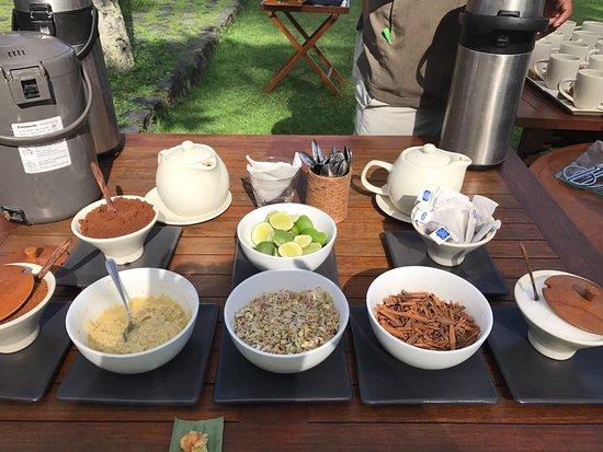 Alila Manggis: Afternoon tea/coffee