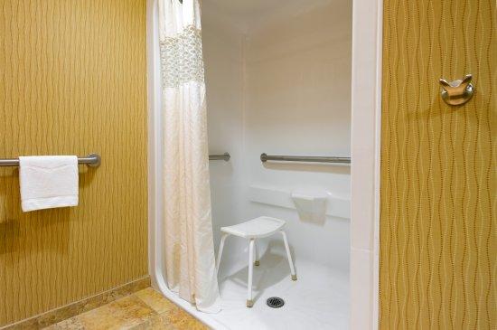 Carlisle, Pensilvania: Roll-In Shower Bathroom