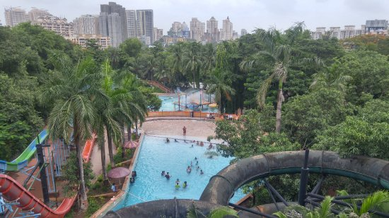 Tikuji-ni-wadi: Wave pool View