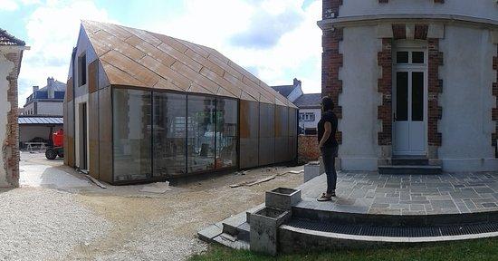 Dizy, Frankrig: Gaston Chiquet nieuw proef lokaal in de maak.