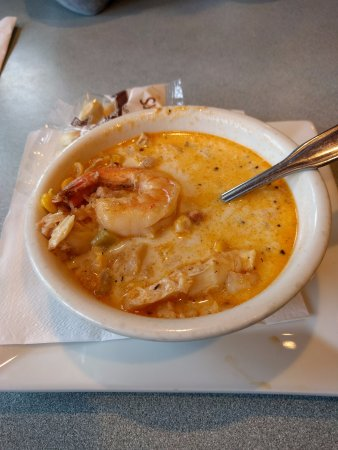 Methuen, MA: Norm's Seafood Chowder... the BEST!