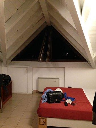 Loft room,single, from doorway to window