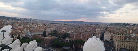 Roma dal Cielo   Terrazza delle Quadrighe: Panorama from Roma dal Cielo terrace