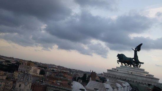 Roma dal Cielo   Terrazza delle Quadrighe: View from Roma dal Cielo terrace