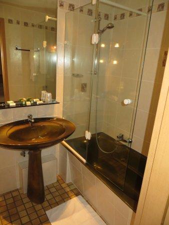 Au Bois le Sire: the bathroom