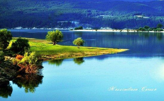 Sila National Park: il lago Cecita