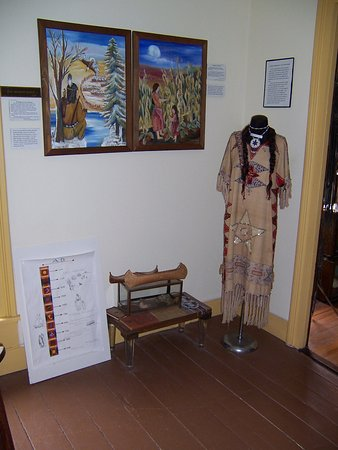 Montour Falls, NY: Native American Room