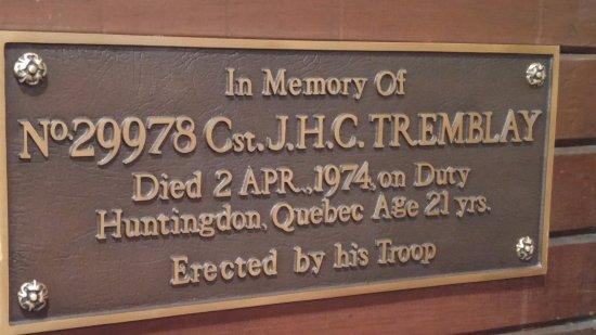 RCMP Heritage Centre: Visit the chapel