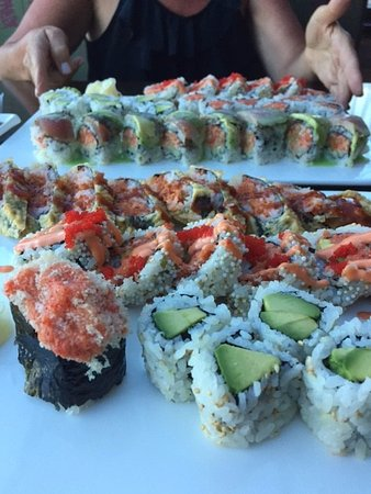Forked River, Nueva Jersey: Sushi
