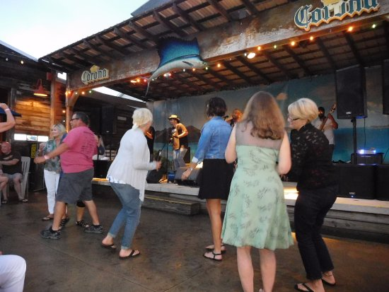 Warsaw, IN: Fun dancing to the band.