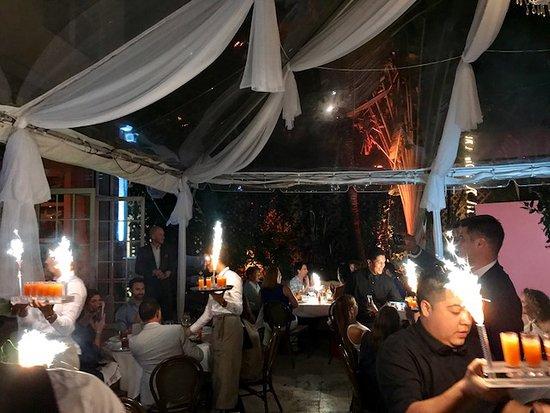 Villa Azur Restaurant & Lounge: Private event