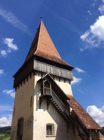 Cluj-Napoca, Romania: Johan's Green Mountain Holidays/Green Mountain Holidays Saxon Church